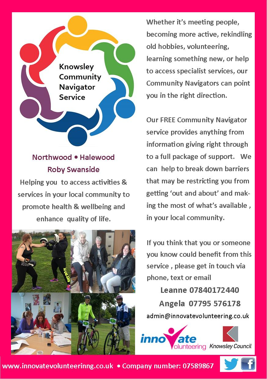 Knowsley Community Navigator Service | The Live Well